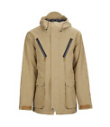 Sessions Supply Tan Mens 10K 2019 Snowboard Jacket