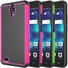 For AT&T AXIA QS5509A / Cricket Vision Phone Shockproof Hybrid Rubber Hard Case