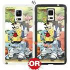 Pikachu Pokemon Eevee Evolutions TPU Case Cover for Samsung Galaxy Note Phone