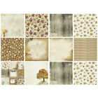 Pack of 24 Scrapbook Paper Background Decorative Paper Pads for Gift Box Album