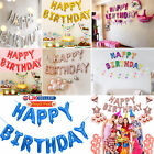 LARGE HAPPY BIRTHDAY BALLOONS SELF INFLATING BANNER BUNTING PARTY DECORATION