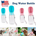 Portable Pet Water Bottle Dispenser for Dog Cat Puppy Travel Feeder Tray Bowl US