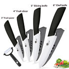 Original Japanese Ceramic Knives Kitchen Chef knife Cook Set peeler white blade