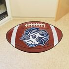 NCAA Football Shaped Mat Area Rug Choose Your Team