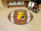 Michigan NCAA Football Shaped Area Rug Choose Your Team