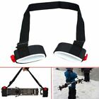 US Ski Snowboard Shoulder Carrier Nylon Strap Holder Snowboarding Accessory