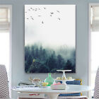 Abstract Forest Landscape Wall Art Painting Canvas Poster Prints Home