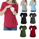 Внешний вид - Pregnant Women Maternity Nursing Tops Breastfeeding Blouse T-Shirt Multi-styles