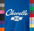 CHEVELLE SS Logo T-Shirt Chevy Chevrolet Classic American Muscle Car Hot Rod Tee image
