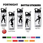Fortnight Personalized Water Bottle Any Name Vinyl Decal Sticker Floss Inspired