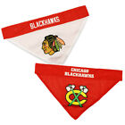 Chicago Blackhawks Dog / Cat Reversible Bandanas SM/MD & LG/XL NHL $14.57 USD on eBay