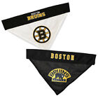 Boston Bruins Dog / Cat Reversible Bandanas SM/MD & LG/XL NHL $14.9 USD on eBay