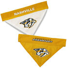 Nashville Predators Dog / Cat Reversible Bandanas SM/MD & LG/XL NHL $13.86 USD on eBay
