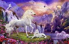 UNICORN PRINCESS FANTASY KIDS POSTER PRINT un2 - VARIOUS SIZES - BIG or SMALL
