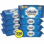Cottonelle FreshCare Flushable Wipes for Adults, Wet Wipes, Alcohol Free, 336 Ct