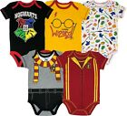 Внешний вид - Warner Bros. Harry Potter Baby Boys' 5-Pack Bodysuits Hogwarts Gryffindor