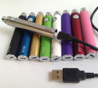 GENUINE EVOD 1100 mAH PASS THRU BATTERY W/3' CHARGING CORD OR CHARGER ONLY