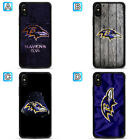 Baltimore Ravens Phone Case For Apple iPhone X Xs Max Xr 8 7 Plus 6 6s $4.49 USD on eBay