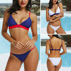 HOT Women Push-up Padded Bra Bandage Bikini Set Swimsuit Triangle Thong Swimwear $6.43 USD on eBay