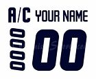 Winnipeg Jets Customized Number Kit for White Practice Jersey