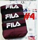 Fila Men's Boxer Briefs 3 Pack Medium 32-34 Navy Blue Grey Neon Colors New w Tag