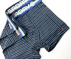 Superdry Stripe Sports Double Pack Boxer Short