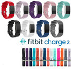 For Fitbit Charge 2 Replacement Band Secure Strap Wristband Metal Buckle HR image