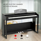 Kyпить 88 Key LCD Electric Digital Piano Hammer Action Keyboard w/Pedal+Cover +Stand на еВаy.соm