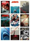 JAWS MOVIE SHARK POSTER PRINT COLLAGE WALL ART (1) - VARIOUS SIZES