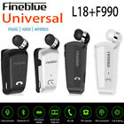 Fineblue L18 Wireless Bluetooth Headset Earphone For iPhone Samsung Universal EN