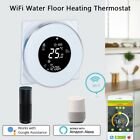 WiFi Wireless Wate/Electric Floor Heating Thermostat Touch Screen App Control JS