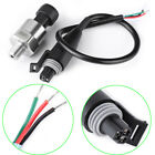 Stainless Steel Pressure Transducer Sender Sensor 1/8 NPT for Oil Fuel Air Water
