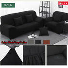 1 2 3 Seater Universal Stretch Sofa Covers Protector Couch Cover Slipcover USA