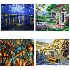 Unframed Digital Scenery Oil Painting By Number Kit Canvas Paint Home Decor DIY