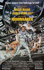 James Bond Poster//Vintage James Bond Movie Poster//Moonraker Movie Poster//Movi £40.84 GBP on eBay