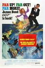 James Bond Poster//Vintage James Bond Movie Poster//Majesty's Service Movie Post $22.99 USD on eBay