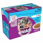 Whiskas Kitten Food-Fish-Poultry-Gravy-Jelly-Helps Your kitten Grow Into A Cat