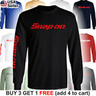 Snap-on Long T-shirt Tools Mechanic Shop Auto Parts Racing Repair Power Car Van