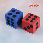 Specialty eva foam playing dice block party toy game prize for children GX