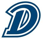 ncaa0942 Drake Bulldogs Big D outlined Die Cut Vinyl Graphic Decal Sticker NCAA