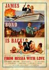 From Russia with Love Poster//From Russia with Love Movie Poster//Movie Poster// £41.84 GBP on eBay