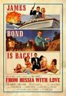 From Russia with Love Poster//From Russia with Love Movie Poster//Movie Poster// £42.55 GBP on eBay