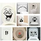 Funny Smile Bathroom Wall Vinyl Stickers Toilet Home Decoration Wall Decals Home