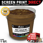 Ecotex GOLD NP - Premium Plastisol Ink for Screen Printing - 1 - QUART