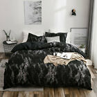 Bedding Set Soft Marble Duvet Quilt Cover Bed Pillow Case Twin Full Queen King image