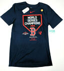 Nike Boston Red Sox World Series Champions T-Shirt Dri-Fit 2018 Authentic NWT on Ebay