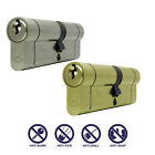 40/55 (35/10/50) Anti Snap Euro Cylinder Door Barrel Lock uPVC Aluminium Timber✔