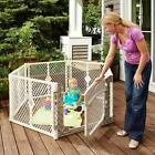 North States Superyard Ultimate 6-Panel Play Yard: Safe Play Area for Indoors