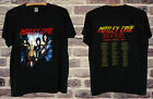 NEW RARE Motley Crue 1983 1984 Shout At The Devil T Shirt BLACK gildan usa SIZE image