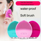 Electric Silicone Cleansing Brush Ultrasonic Facial Spa Massager and Cleanser